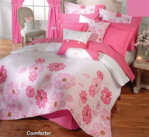 cyber monday sale pink white comforter sheets bedding set