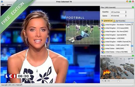 free internet tv free download and software reviews