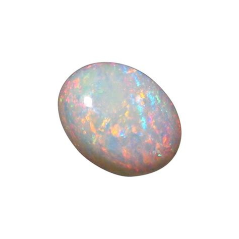 natural white opal 4 6 carat white opal stone unset oval natural white opal
