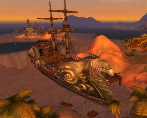 wow boat to ratchet world of warcraft northern barrens