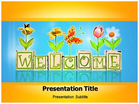 welcome home powerpoint templates powerpoint