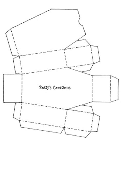How To Make A Paper Coffin - bettys creations anleitung s 228 rge