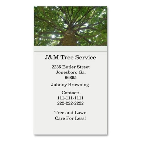 Tree Service Business Cards Templates by 20 Best Tree Service Business Cards Images On