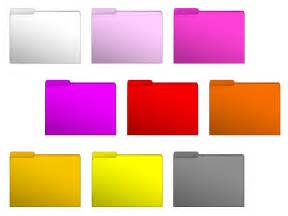 folder color 14 mac colored folder icons images color folder icons