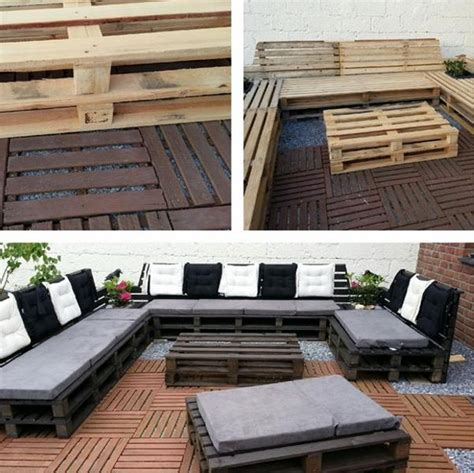 Diy Garden Sofa by Diy Pallet Sofa Ideas And Plans Pallet Ideas Recycled