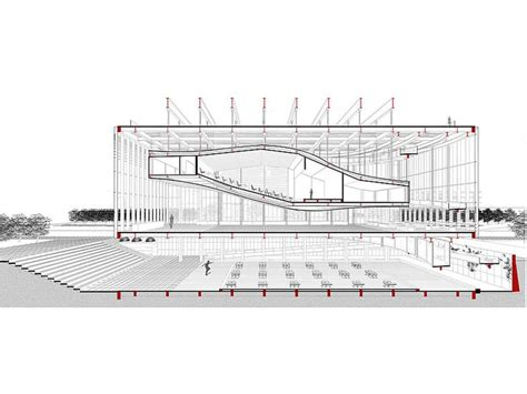 auditorium plan and section auditorio arquitectura buscar con google architectural