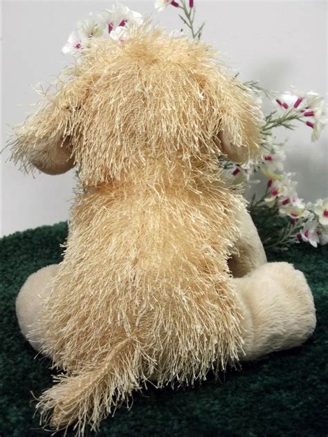 golden retriever puppy stuffed animal ganz webkinz plush golden retriever puppy stuffed animal