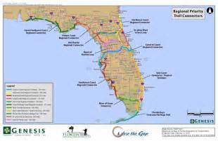 map of the florida trail trails win big in florida s 2015 16 state budget