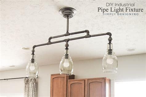 Diy Industrial Pipe Light Fixture Diy Pipe Light Fixture