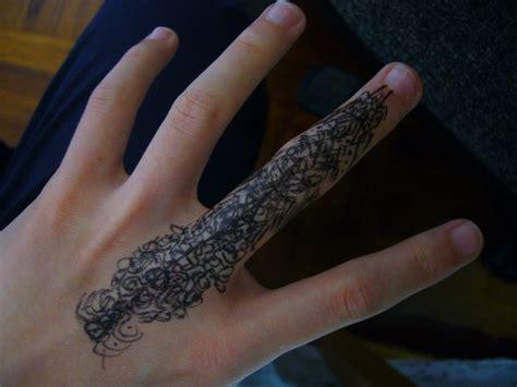 79 most exquisite finger tattoos design mens craze