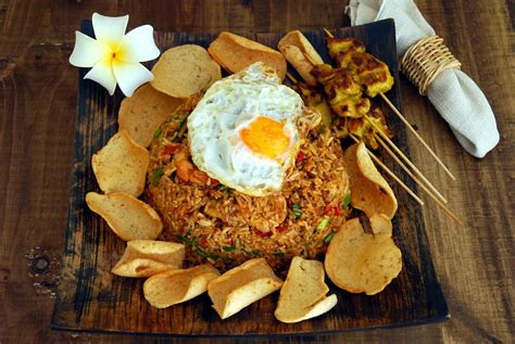 daftar makanan khas indonesia  mendunia