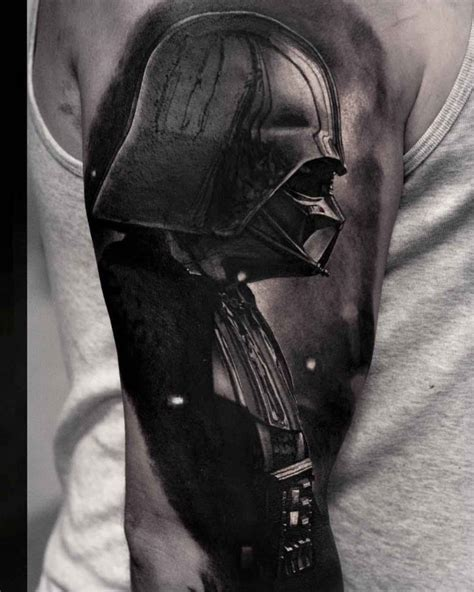 shoulder darth vader tattoo best tattoo ideas gallery