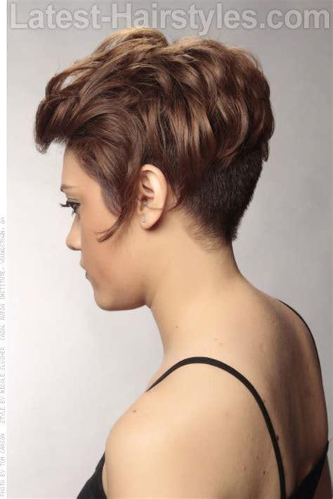 terrie haircut on pinterest 22 pins short asymmetric haircut with waves side view my hair