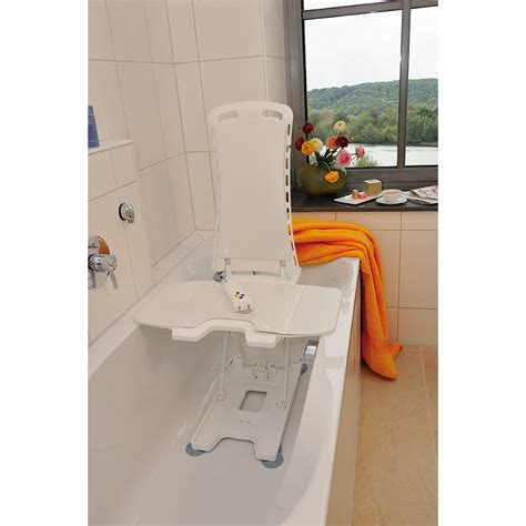 bathtub lift seats white bellavita auto bath tub chair seat lift 477200252
