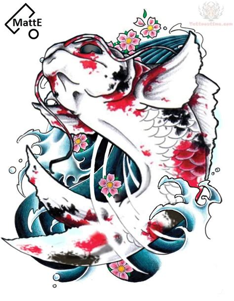 japanese koi fish tattoo design japanese koi fish design