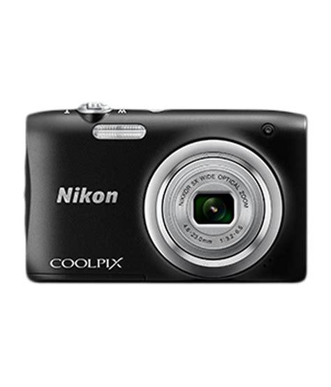 nikon coolpix nikon coolpix a100 20 1 mp digital black price in