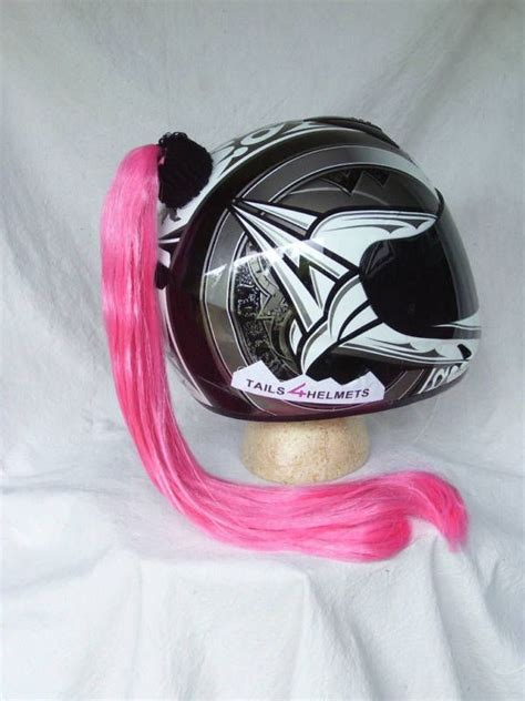 Motorradhelm Pink Damen by Helmet Pink Ponytail Motorcycle Skate Board Bike Mine