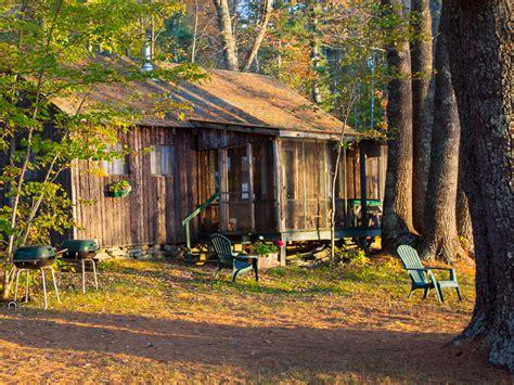 Cabin Retreats Near Me Sunset Lodge Damariscotta Lake Maine Vacation Rental