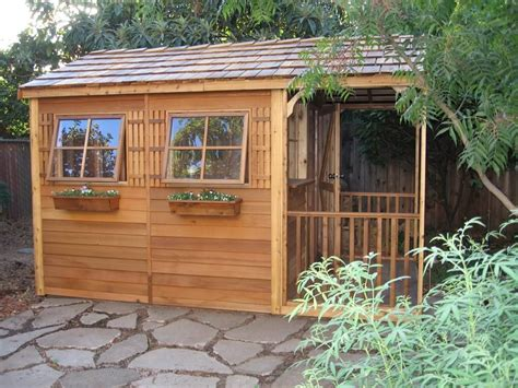 shed made from pallets backyard clubhouse made of wood