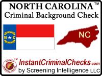 Nc Criminal Background Check Carolina Criminal Background Checks For Employment