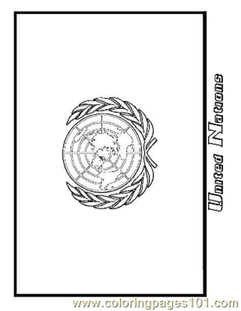 United Nations Coloring Page Free Flags Coloring Pages Nations Coloring Pages