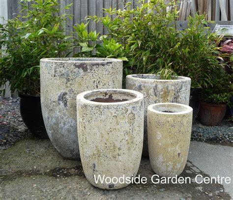 large atlantis u planters salvage garden pot glazed