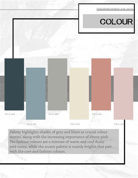 color forecast 934 best colour trends 2018 2019 2020 images on