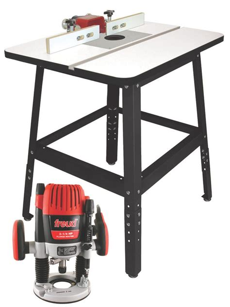 Router And Table Combo by Freud Rts5300 Router Table Combo Package With Ft3000vce