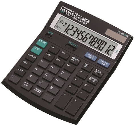 Ronbon Rb2618 Ii Kalkulator 12 Digit office calculator citizen ct 666n 12 digit 188x142mm