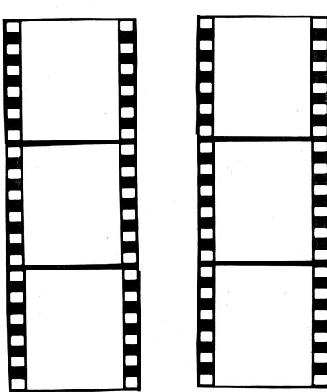 film strip template design clipart best