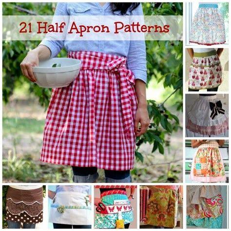 pattern for simple half apron 1000 ideas about half apron patterns on pinterest apron