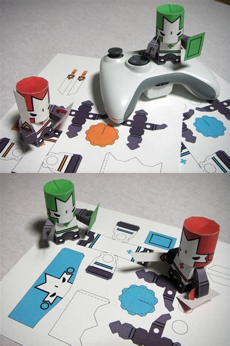 Castle Crashers Papercraft - necromancy photos necromancy images ravepad the place
