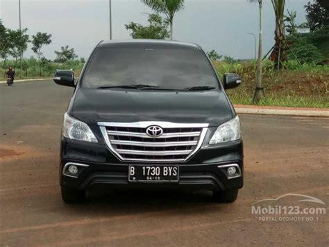 Toyota Kijang Innova V 2014 jual mobil toyota kijang innova 2014 v 2 5 di banten