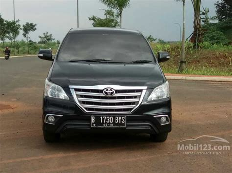 Mobil Toyota Kijang Innova 2014 jual mobil toyota kijang innova 2014 v 2 5 di banten