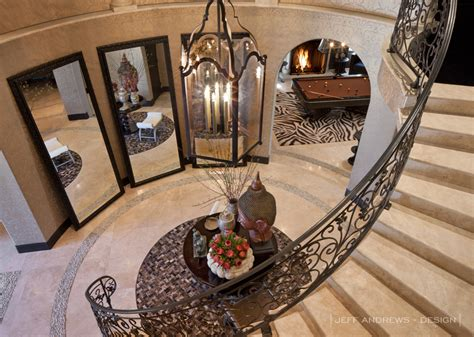 Khloe House Interior by Floor Mirrors In Curved Entry Way Jeff Design