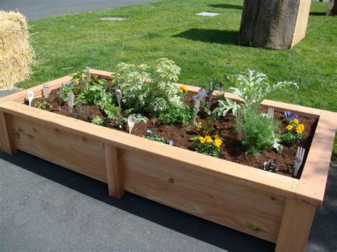 Wooden Raised Garden Bed Kits by Garden Bed Ideas For Various Beautiful Garden Designs