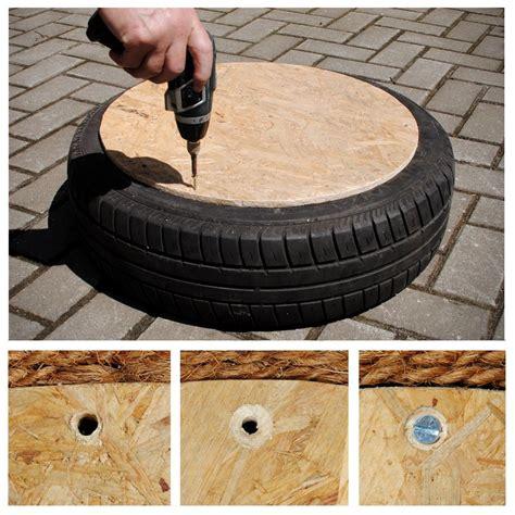 reifen tisch selber bauen upcycling m 246 bel aus autoreifen selber bauen solebich de