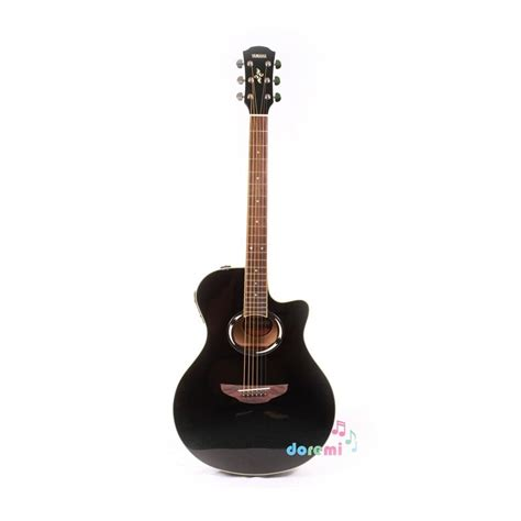 jual yamaha electric acoustic guitar apx 500ii black