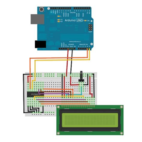controlling  lcd display hd  ic bus