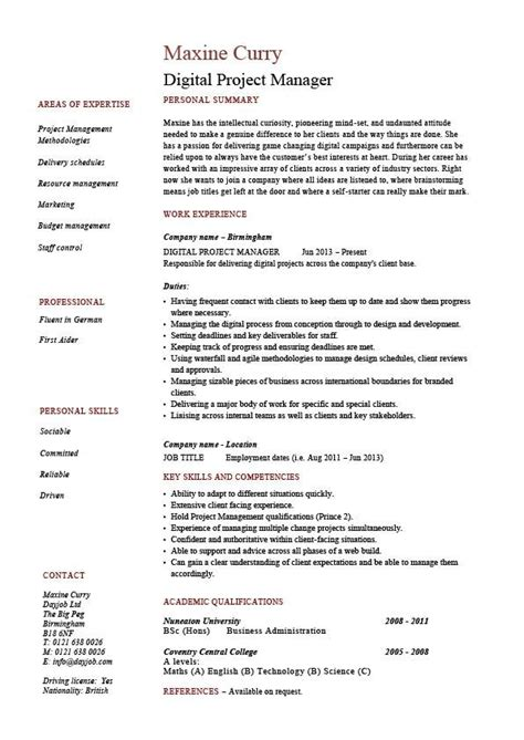 Marketing Project Manager by Marketing Project Manager Resume The Best Resume