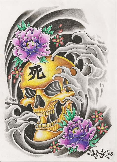 oriental design by wizyakuza on deviantart oriental tattoo design by crimeskull on deviantart