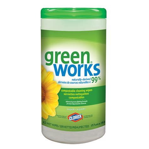clorox green works natural compostable cleaning wipes count grand toy