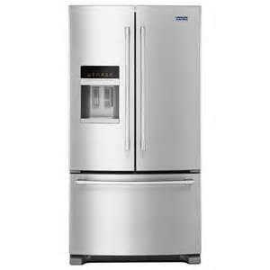 maytag 36 in w 24 7 cu ft door refrigerator in