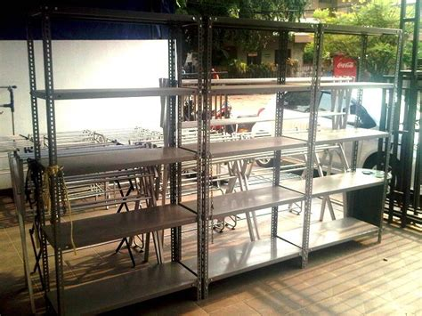 Daftar Rak Jemuran Aluminium for sale rak besi siku lubang jemuran aluminium tangga