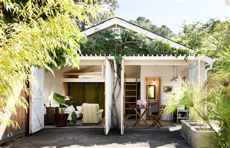 car garage converted  backyard tiny cottage