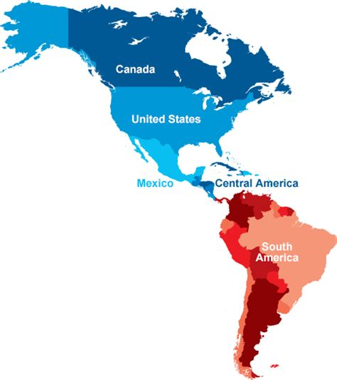 the map of america ilass americas