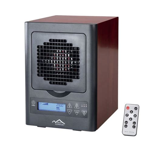 new comfort cherry 6 stage air purifier with electronic display ch30002013 the home depot