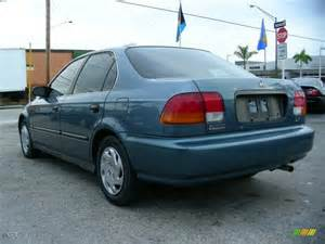 1996 cyclone blue metallic honda civic lx sedan 60752951