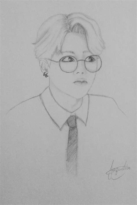 Kpop Sketches by Jimin Draw Kpop Bts Fanart Zeichnungen