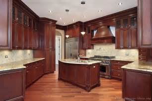 cherrywood kitchen cabinets traditional dark wood cherry kitchen cabinets style